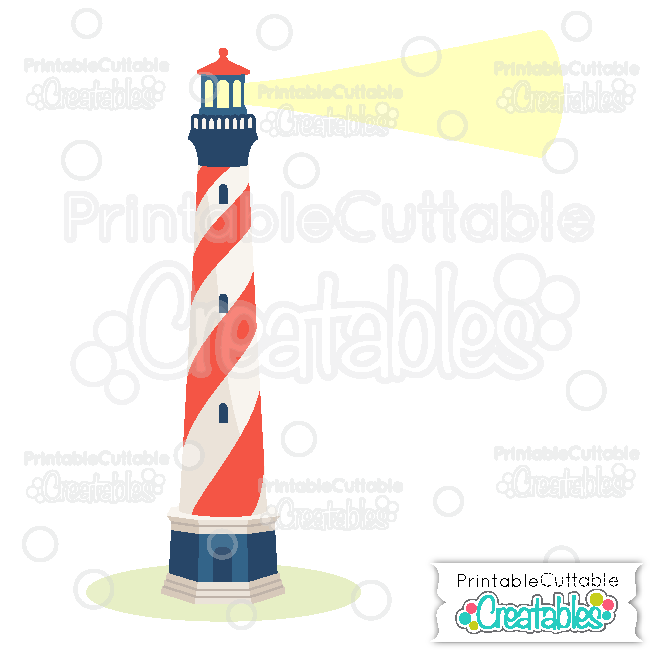 Lighthouse Cuttable SVG Cut File