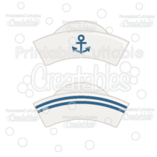 Sailor Hat Free SVG File & Clipart