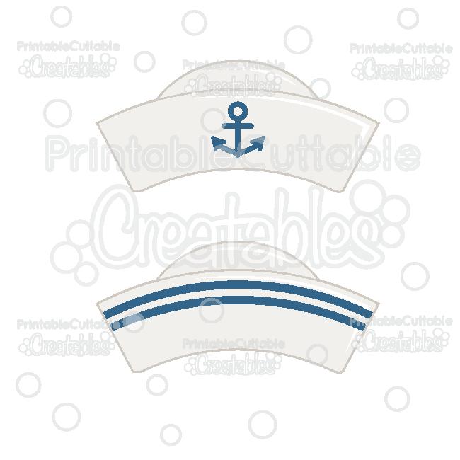 Sailor Hat Free Svg File Clipart