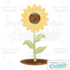Free Sunflower SVG File