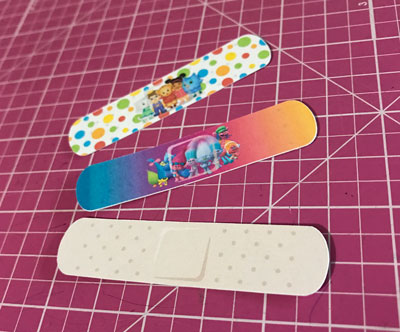 DIY Printable Toy Bandages
