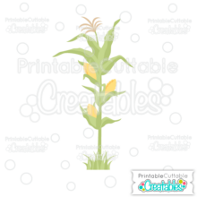 Corn Stalk SVG Cut File