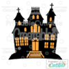 Haunted House Free SVG File & Clipart