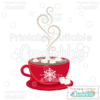 Marshmallow Hot Cocoa SVG Cutting File
