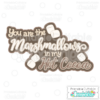 Marshmallow Hot Cocoa Scrapbook Title SVG Cutting File