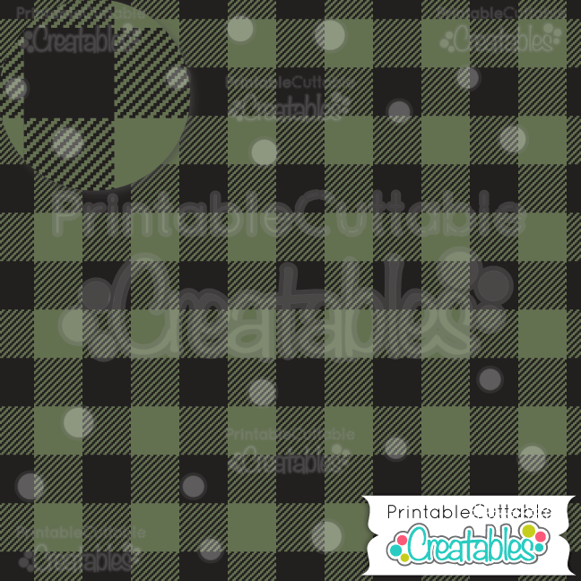 Buffalo Plaid seamless pattern digital paper pack
