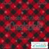 Diagonal Buffalo Plaid Seamless Pattern Swatches