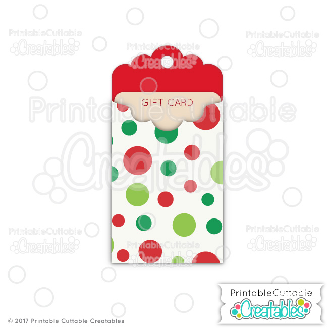 photograph relating to Free Printable Gift Card Holder Templates identified as Xmas Tag Present Card Holder Totally free SVG Report for Silhouette