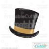 Fancy Top Hat SVG Cut File