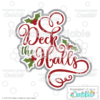Deck the Halls Scrapbook SVG Cut File