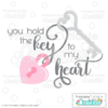 Key to My Heart SVG File