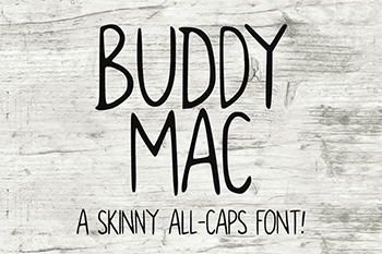 Buddy Mac Free Font Commercial Use