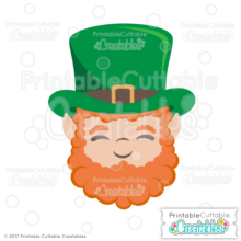 Cute Leprechaun SVG File