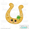Cute Lucky Horseshoe SVG File