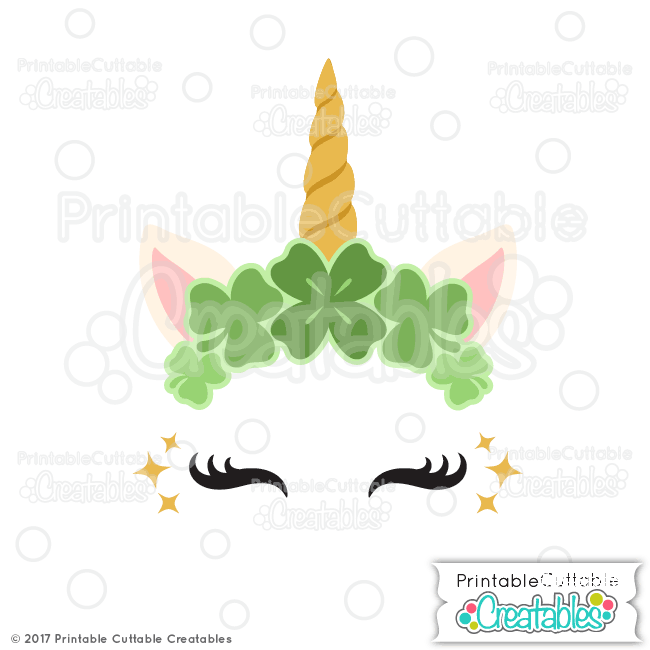 St. Patrick's Day Clover Unicorn