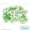 Cutest Clover in the Patch SVG File