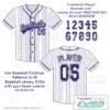 Baseball Pinstripes Seamless Pattern Fill example
