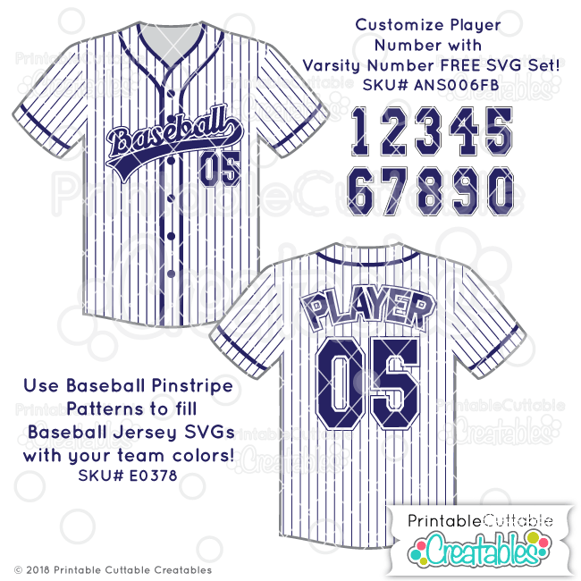 Baseball Pinstripes Seamless Pattern Fill example