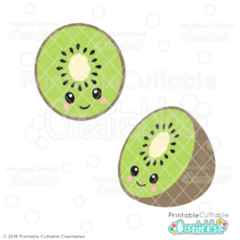 Cute Kiwi SVG File