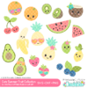 Cute Summer Fruit SVG Files Collection