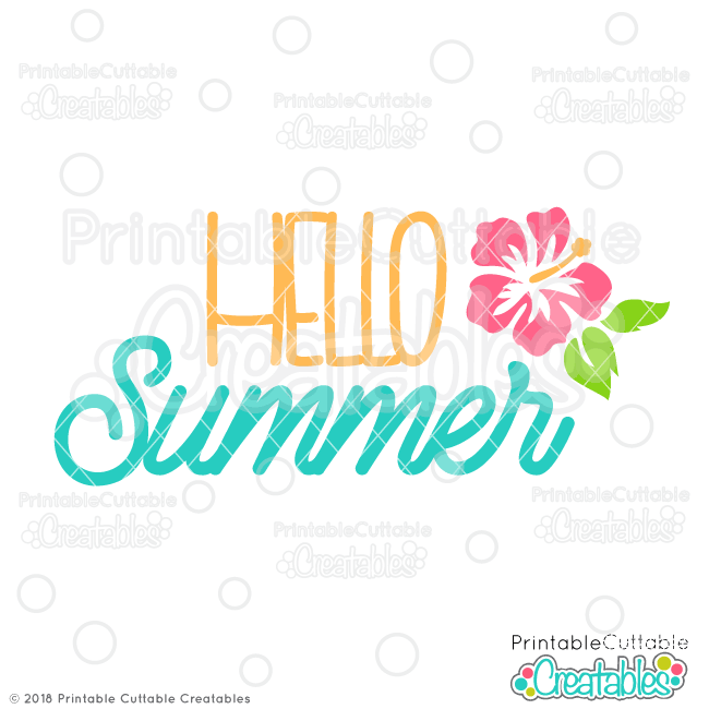 Summer Sayings SVG Files Bundle for Cricut, Silhouette Cameo