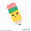 Happy Pencil SVG File