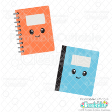 Happy Notebooks SVG Files