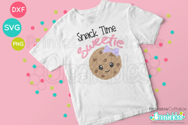 Happy Cookie SVG file T-shirt mockup