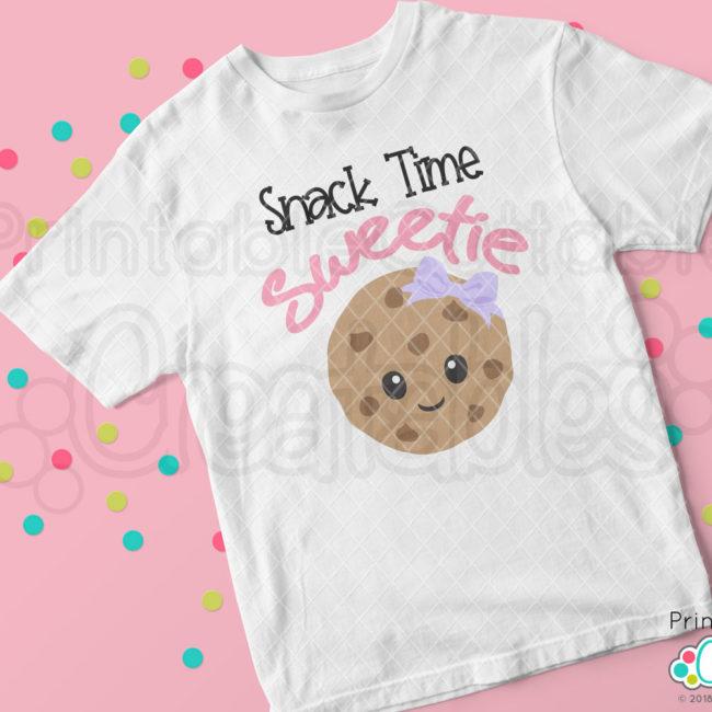 Happy Cookie SVG file T-shirt mockup