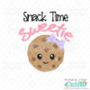 Snack Time Sweetie SVG File