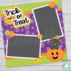 Halloween Cat in Pumpkin SVG Scrapbooking Cut File