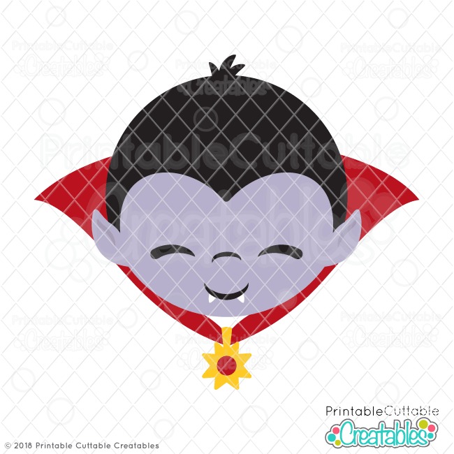 Cute Vampire SVG File