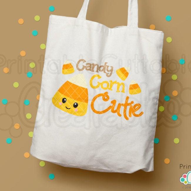 Candy Corn Cutie Free SVG cut file