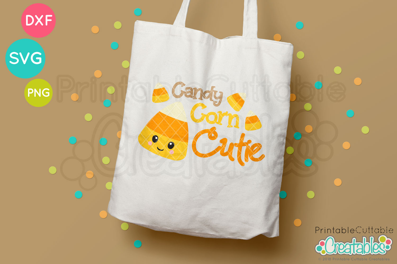 Candy Corn Cutie Free Svg File For Silhouette For Cricut