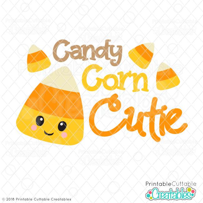 Candy Corn Cutie Free SVG File