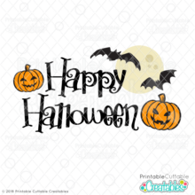 Happy Halloween FREE SVG File