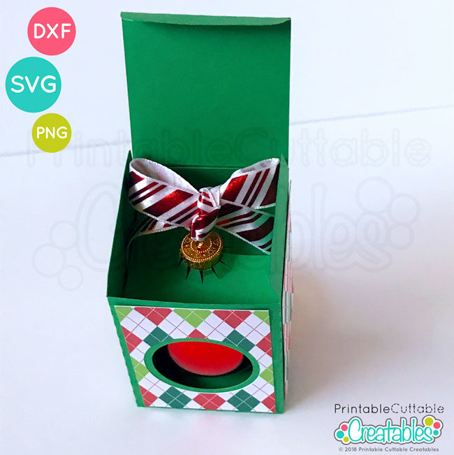 D019 Round Ornament Box preview4