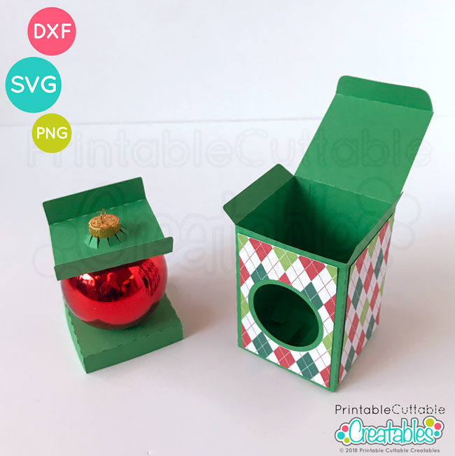 D019 Round Ornament Box preview5
