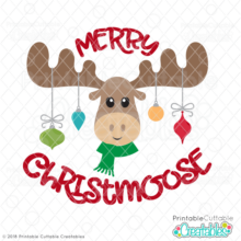 Merry Christmoose SVG File