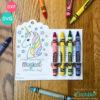 Valentine Crayon Holder SVG Files