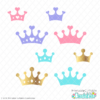 Prince & Princess Crowns Free SVG Files