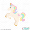 Cute Unicorn SVG File