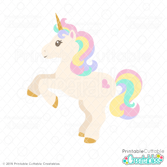 Cute Unicorn Svg File For Silhouette Cricut Svgs For Crafting