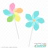 Spring Pinwheels Free SVG Files