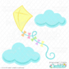 Spring Kite Free SVG File for Cricut and Silhouette