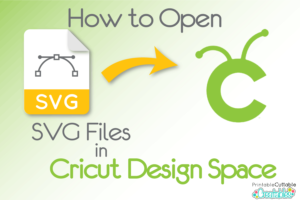 How to Open SVG Files in Cricut Design Space