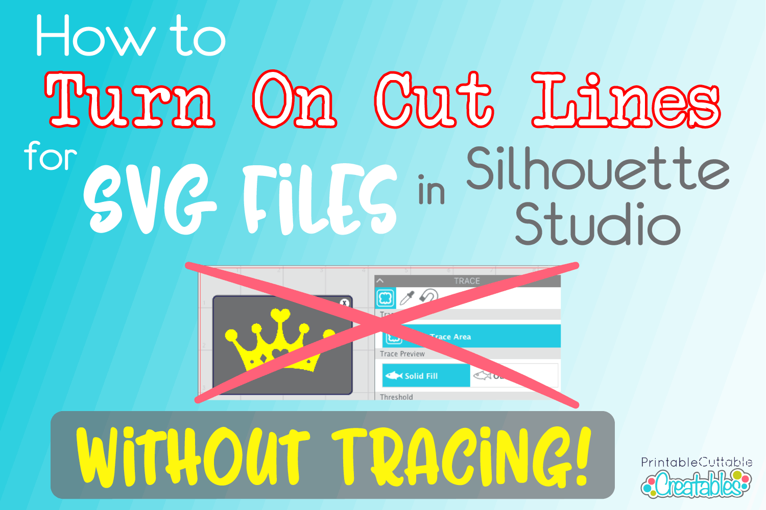 How to Turn on SVG Cut Lines in Silhouette Studio Designer Edition