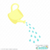 Spring Watering Can FREE SVG File for Cricut & Silhouette