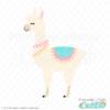 Cute Llama SVG File & Clipart