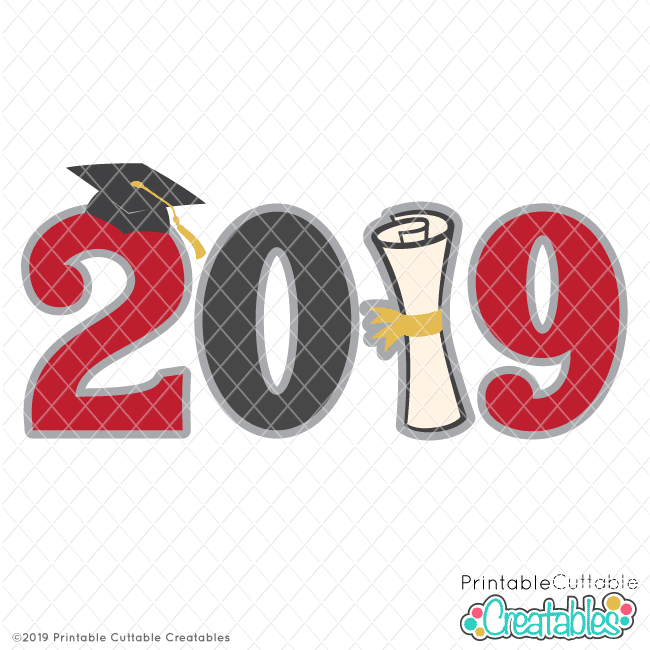 photo relating to Graduation Clip Art Free Printable identify Commencement 2019 Name Free of charge SVG History Clipart for Cricut